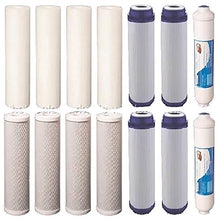 14 pc Reverse Osmosis Replacement Filter Set RO Water Purifier Cartridges