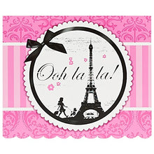 Birthday Express Paris Eiffel Tower Damask Party Supplies   Invitations (8)