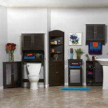 River Ridge Ellsworth Collection Single Door Floor Cabinet, Espresso