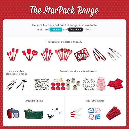 Star Pack Basics Slotted Silicone Turner Spatula, High Heat Resistant To 480ã'â°F, Hygienic One Piece