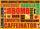Image of Java Factory Single Cup Coffee For Keurig K Cup Brewers, Da Bomb Extra Bold Double Caffinated, 80 Co