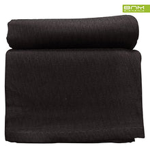 Diamond Full/Queen Cotton Throw Blanket, Breathable Thermal Bed/Sofa Blanket Couch, Snuggle in These Super Soft Cozy Cotton Blankets - Perfect for Layering Any Bed, Black