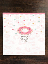 Donut Touch Me Don't Funny Pink Doughnuts One Piece Premium Ceramic Tile Coaster 4.25