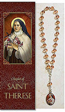Christian Brands Saint Therese Chaplet With Pamphlet (Ps932)
