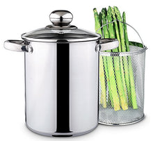 Chef Quality Stainless Steel Steamer   4 Qt Vegetable Steamer Or Stovetop Steamer Cooker