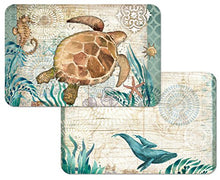 Counterart Reversible Wipe Clean Placemat Monterey Bay