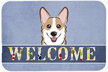 Caroline's Treasures BB1439JCMT Sable Corgi Welcome Kitchen or Bath Mat, 24 by 36