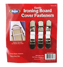 Bajer Elastic Ironing Board Fasteners   3 Piece Set