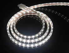 CBConcept UL Listed, 13 Feet, 1400 Lumen, 4000K Soft White, Dimmable, 110-120V AC Flexible Flat LED Strip Rope Light, 240 Units 3528 SMD LEDs, Indoor Outdoor Use, Accessories Included, Ready to use