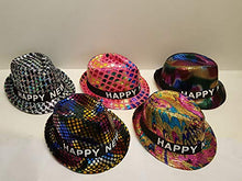2019 Happy New Years Eve Fancy Light Up Fedora Party Hats (All 5 Hats)