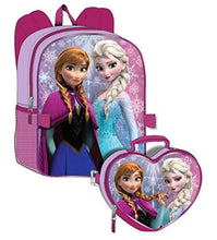 Disney Frozen Girls Backpack With Detachable Lunchbox Set (Exclusive Design)
