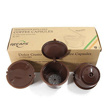 RECAPS Refillable Dolce Gusto Coffee Capsules Refilling More Than 200 Times Reusable Coffee Pods for