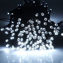 100-LED White Solar String Fairy Lights Outdoor Garden Xmas Wedding Party Decor