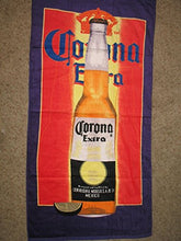 Corona Extra Mexican Beer 30 x 60 Beach Towel (Cotton Twill)