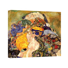 Art Wall Baby Detail Gallery Wrapped Canvas By Gustav Klimt, 20 By 24 Inch