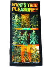 WHAT'S YOUR PLEASURE BEACH TOWEL LICENSED