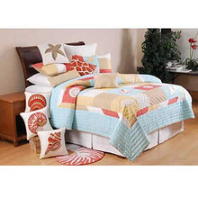 C&F Home St. Lucia Collection Queen Quilt, 90 by 92-Inch