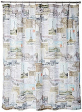 Creative Bath Products Travelers Journal Shower Curtain