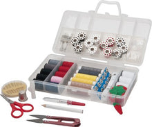 Sunbeam Sewing Kit, Sb18 Over 120 Premium Sewing Supplies, 13 Spools Of Thread   Most Useful Colors