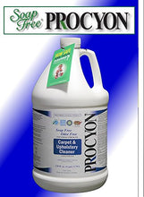 1 Each  128 Oz. Bottle  Soap Free Procyon Carpet & Upholstery Cleaner Concentrate. Will Clean Approx