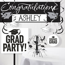 Graduation School Spirit White Decorations Kit