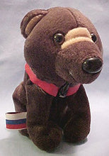 Coca-Cola Bean Bag Plush Barris the Bear representing Russia