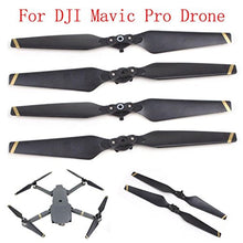 For DJI Mavic Pro, Tuscom@ 2 Pair 8330 Quick-release Folding Propellers Screw Prop