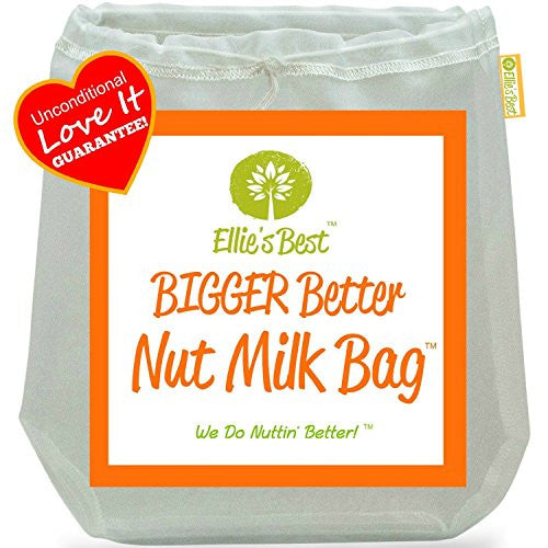 "Pro Quality Nut Milk Bags   3 Commercial Grade 12""X12"" Reusable Almond Milk Bags & All Purpose Food"