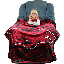 College Covers Arkansas Razorbacks Raschel Throw Blanket, 50