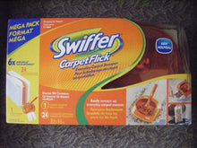 Swiffer Carpet Flick Starter Kit - 1 Carpet Sweeper - 24 Cleaning Cartridges