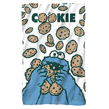 Sesame Street Cookie Crumble Fleece Throw Blanket (36