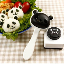 Spove 1 X Panda Shape Sushi Maker Rice Ball Onigiri Mold Mould + Nori Punch DIY Bento