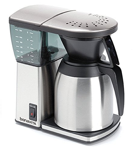 Bonavita Bv1800 Ss 8 Cup Original Coffee Brewer, Stainless Steel