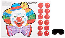 Beistle 66669 Circus Clown Game, 17.5 Inch by 16.5 Inch