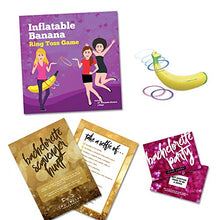 Bachelorette Party Games - Package of 3 - Banana Ring Toss, Dare Card Scratch Off Game, and Selfie Scavenger Hunt - Bridal Showers, Girls Night Out