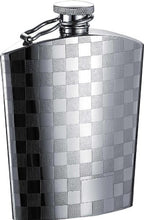Visol VF1294 Checkmate Stainless Steel Hip Flask, 5-Ounce