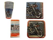 Cycle Shop Deluxe Party Supplies for 8 Guest