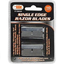 IIT 19050 10Pc Single Edge Razor Blades,