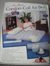 Air Cloud Comfort-Coil Air Bed - Full Size - A301