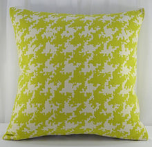 Creative Accent Decorative 100% Cotton Throw Pillow Cover, 18x18 inches, Chartreuse