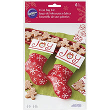 Wilton Stocking Treat Bags,6-Count