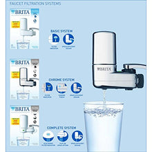 Brita Faucet Water Filter System With Light Indicator, White