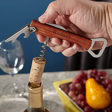 Artesa Wine Corkscrew and Bottle Opener