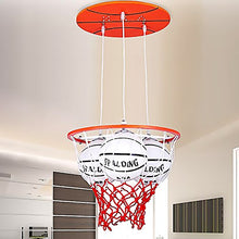 Winzsc Personality Boys Room Basketball Children Pendant Light Warm Romantic Master Bedroom Creative