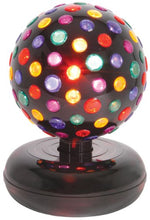 Uk Version Large Rotating Disco Ball 5 Colours Free Standing