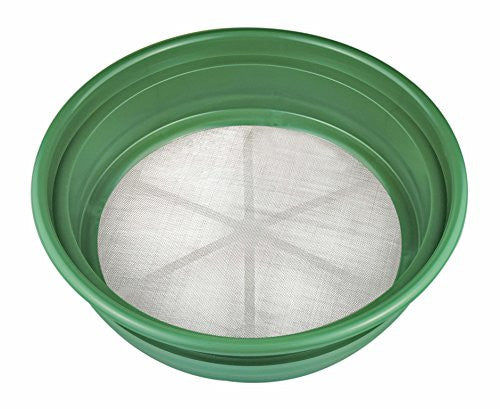 "Se Patented Stackable 13 1/4"" Sifting Pan, Mesh Size 1/30"""