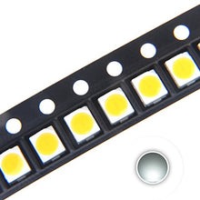 Chanzon 100 Pcs 3528 (1210) White Smd Led Diode Lights Chips (Surface Mount Plcc 3.5mmx2.8mm Dc 3 V 2