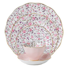 Royal Albert 8704025822 New Country Roses Rose Confetti Vintage Formal Place Setting, 5 Piece