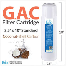 Go Green Bottles 1 Pack GAC Wate filters Cartridges/Reverse Osmosis Drinking Water System