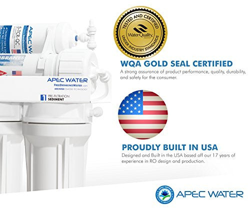 Apec Water Systems Ro 90 Ultimate Series Top Tier Supreme Certified High Output 90 Gpd Ultra Safe Re